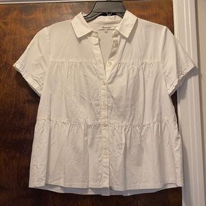 LOWEST PRICE Madewell Tiered Blouse